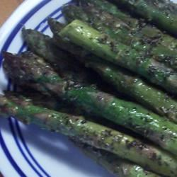 Roasted Asparagus with Herbes de Provence pomplemousse
