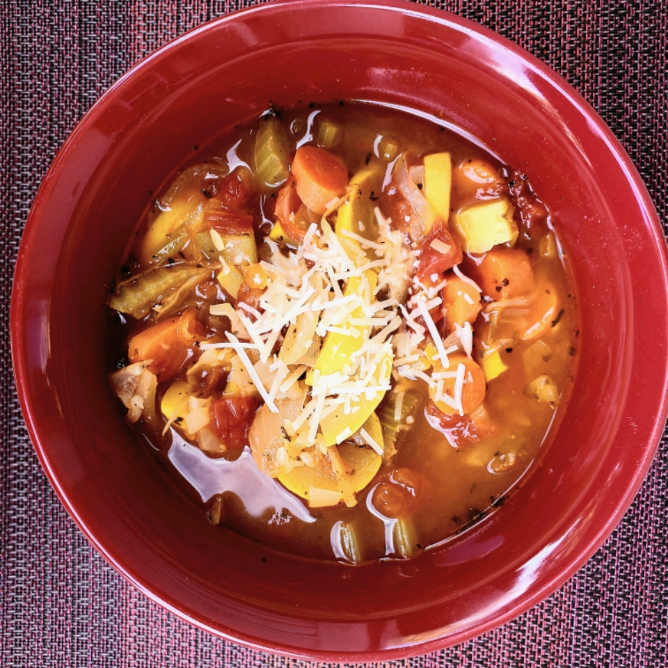 Quick Italian Vegetable Soup
