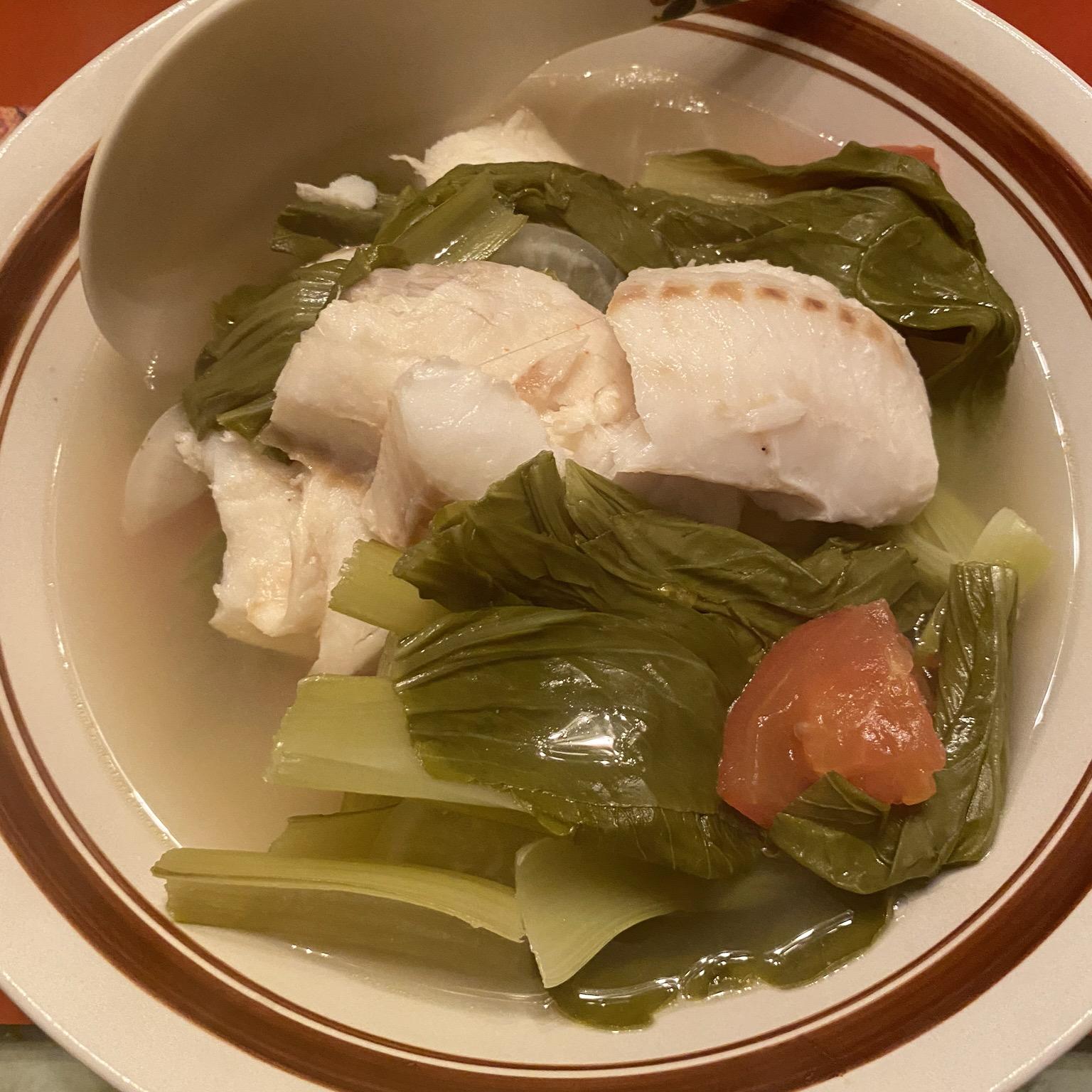 Fish Sinigang (Tilapia) - Filipino Sour Broth Dish KaliSIG