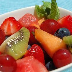 Mojito Fruit Salad cookin'mama