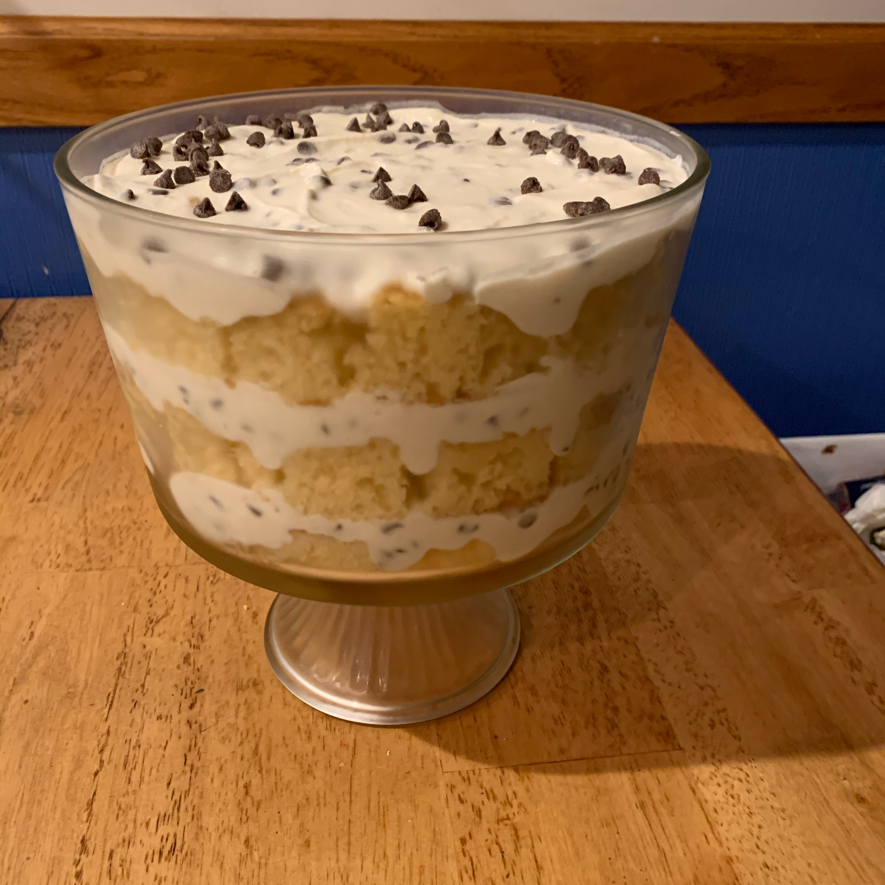 Almond Cake Cannoli Trifle