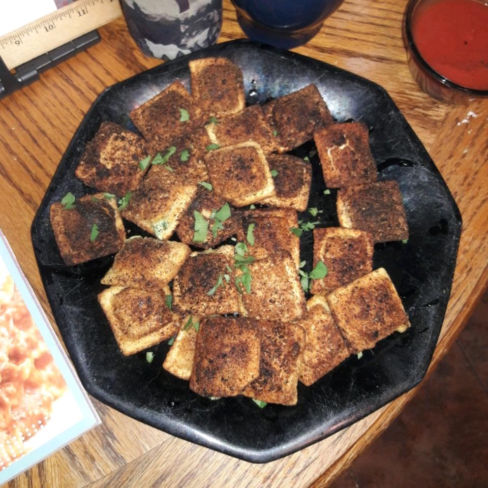 Fried Ravioli Michelle Seace Traino