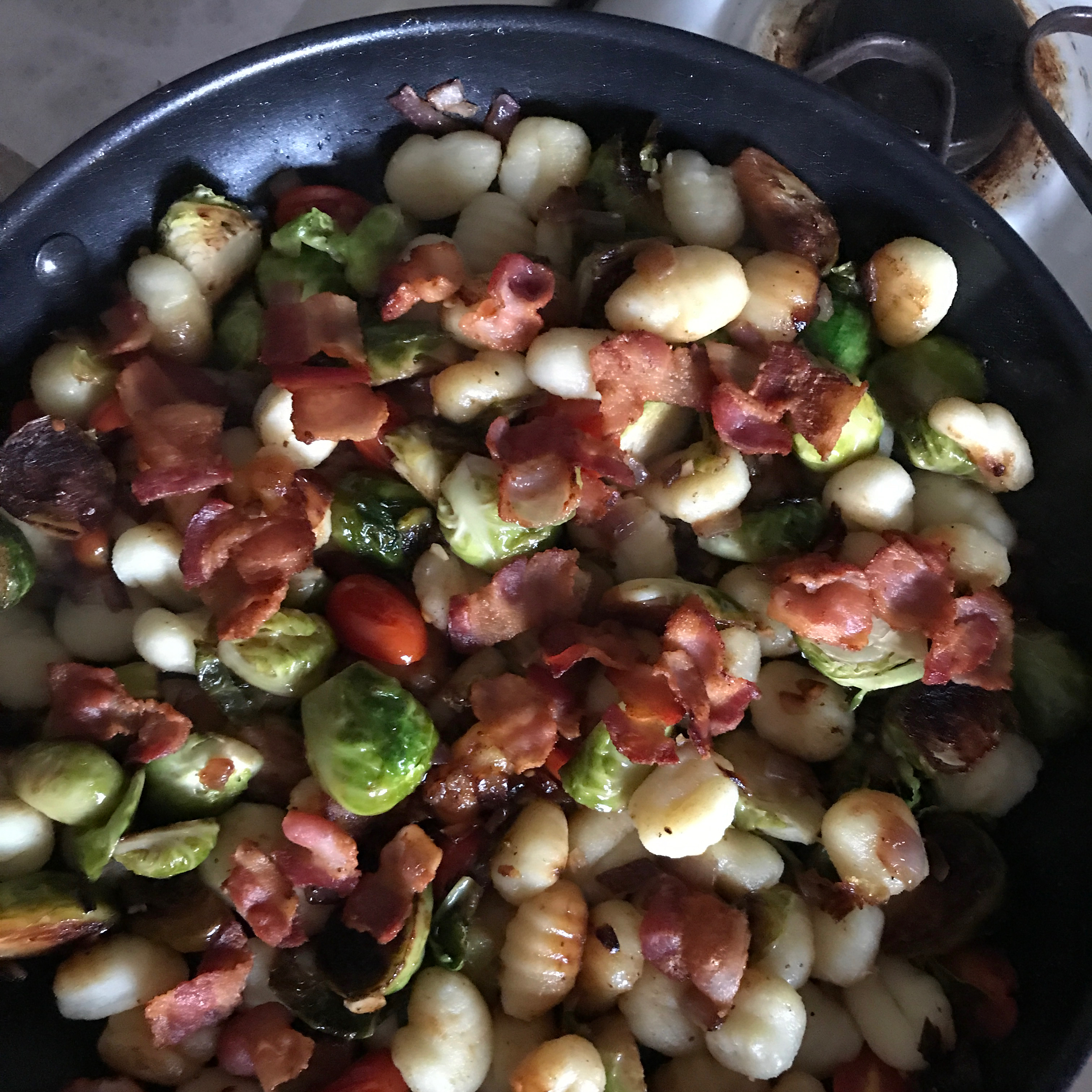 Brussels Sprouts 'n Gnocchi