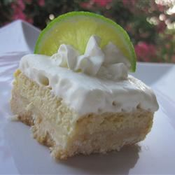 White Chocolate Key Lime Endeavor with Macadamia Crunch