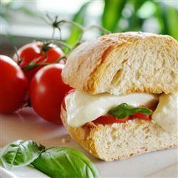 Toasted Caprese Sandwich