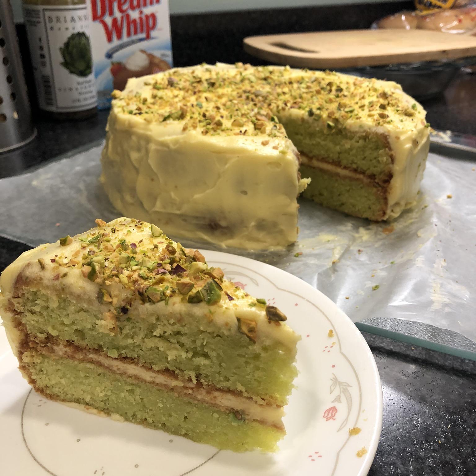 Pistachio Cake II