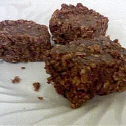 choc oat pb bars recipe