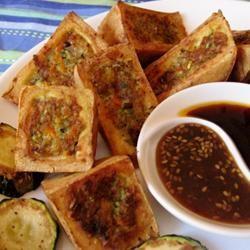 Thai Stuffed Tofu