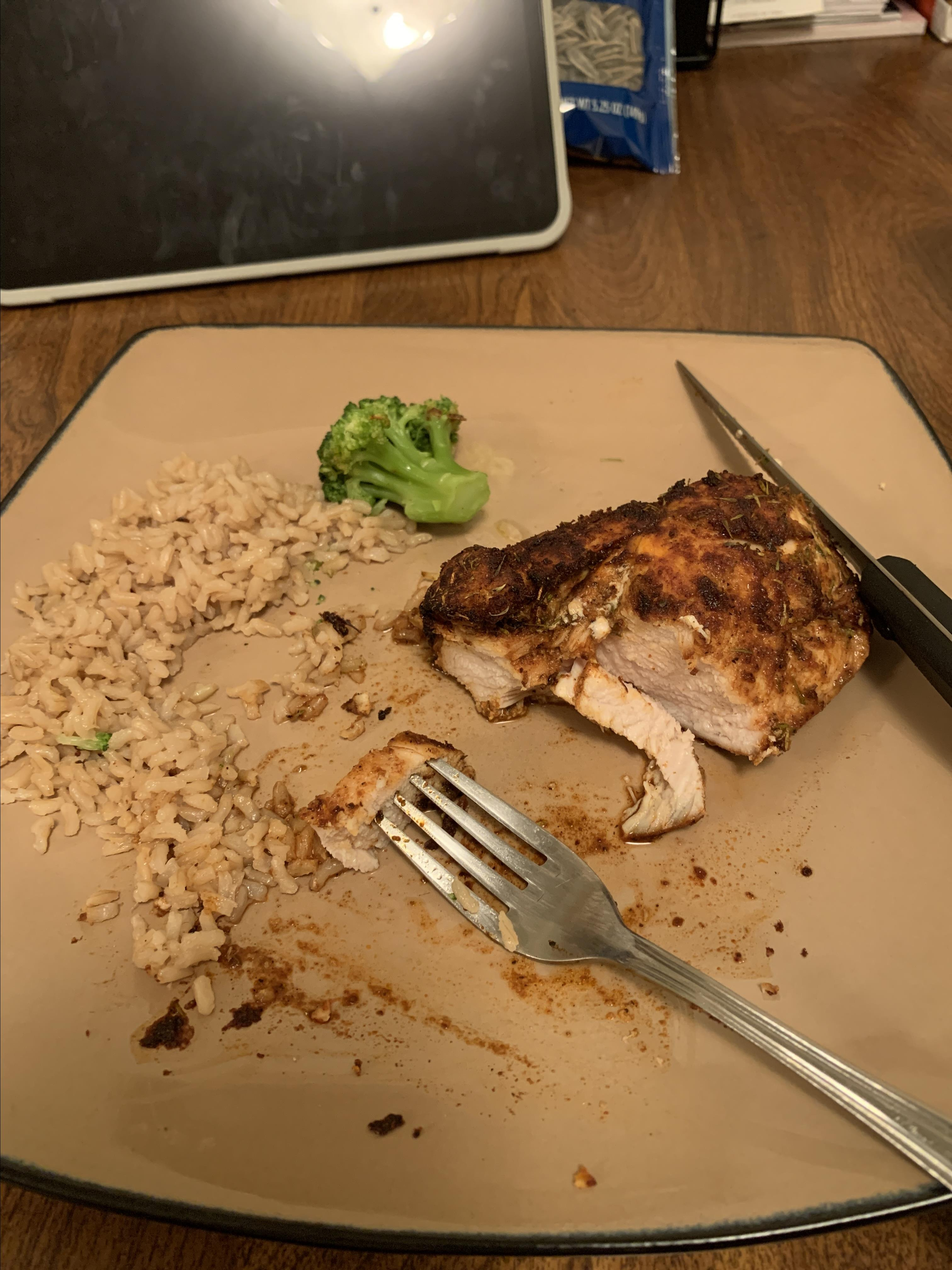 Air Fryer Blackened Chicken Breast