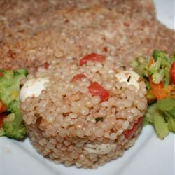 Caprese Couscous Salad thedailygourmet