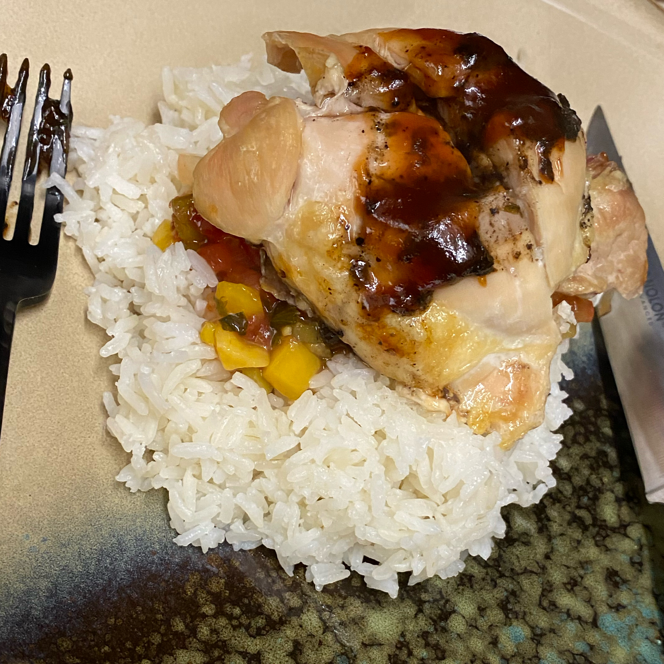 Instant Pot® Teriyaki Chicken Thighs rosskie