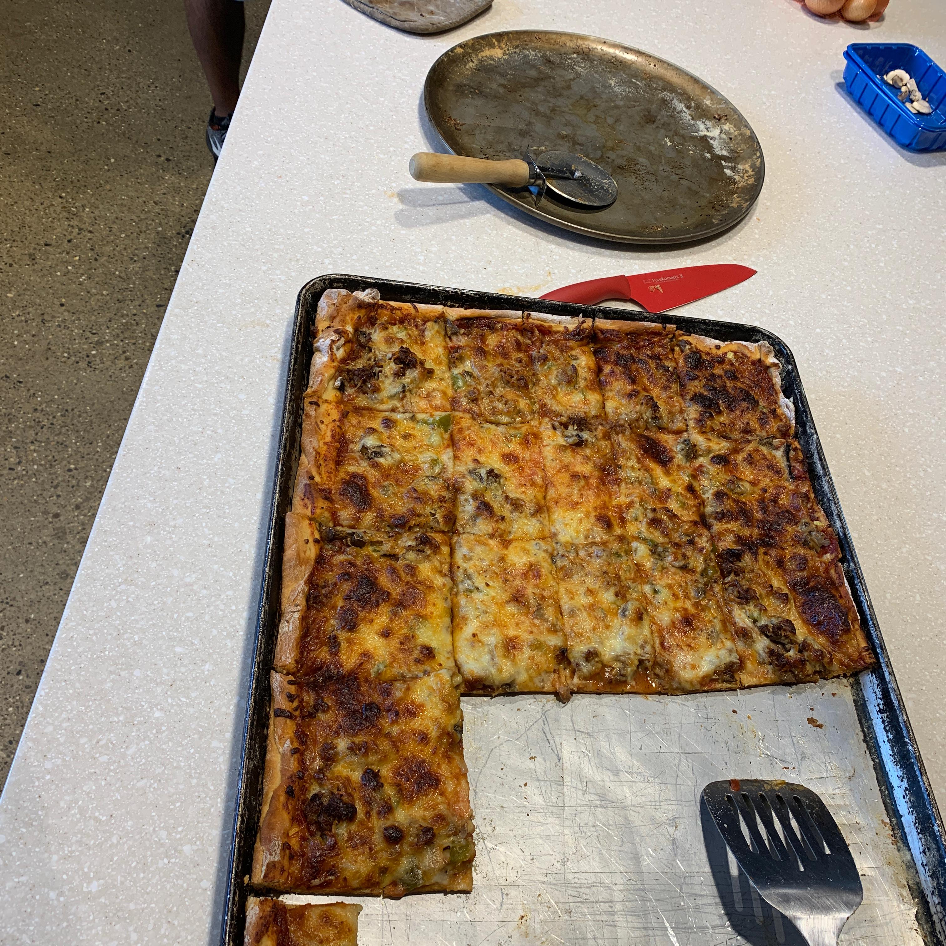 Sicilian Pizza Sauce Lumpy
