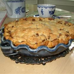 Paper-Wrapped Apple Pie