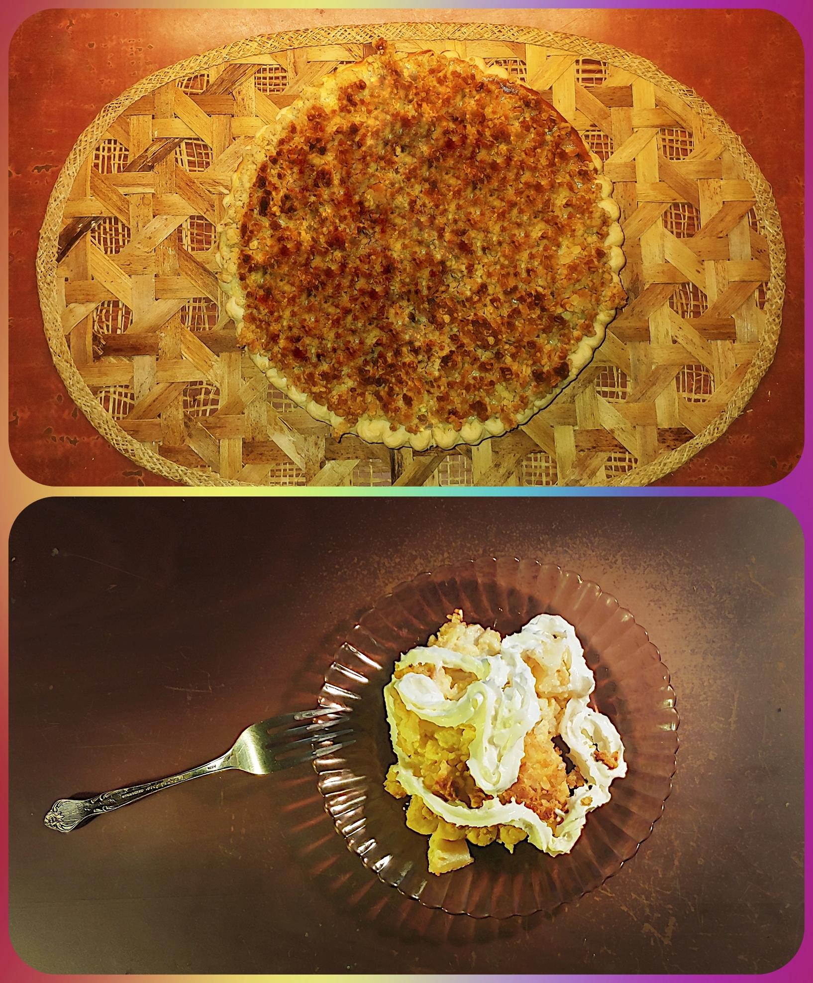 Pear Sour Cream Pie