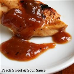 Peach Sweet and Sour Sauce