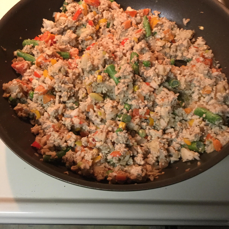Vegan Fried Rice with Tofu Rachelle E. Moody