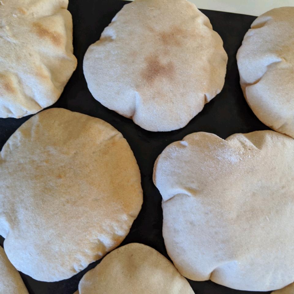 Peppy's Pita Bread Shipra Mitra