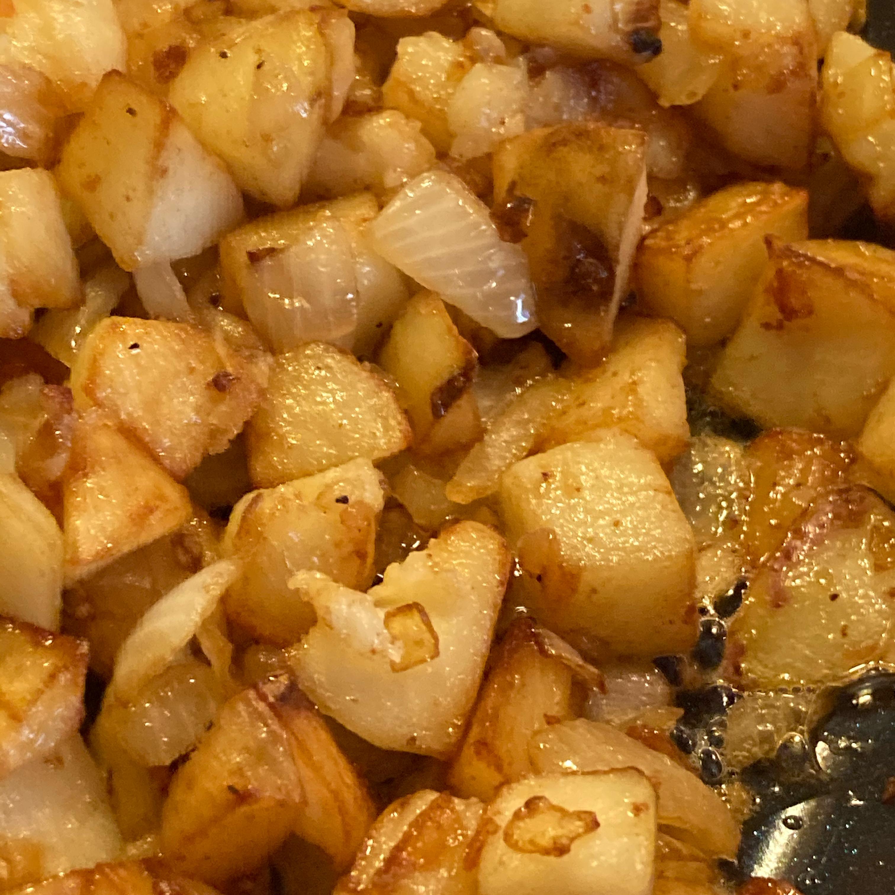 Butter Fried Potatoes Carla jupiter