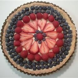 Berry Tart with No Added Sugar