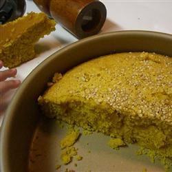 Semolina Turmeric Cake (Sfoof) Meghan