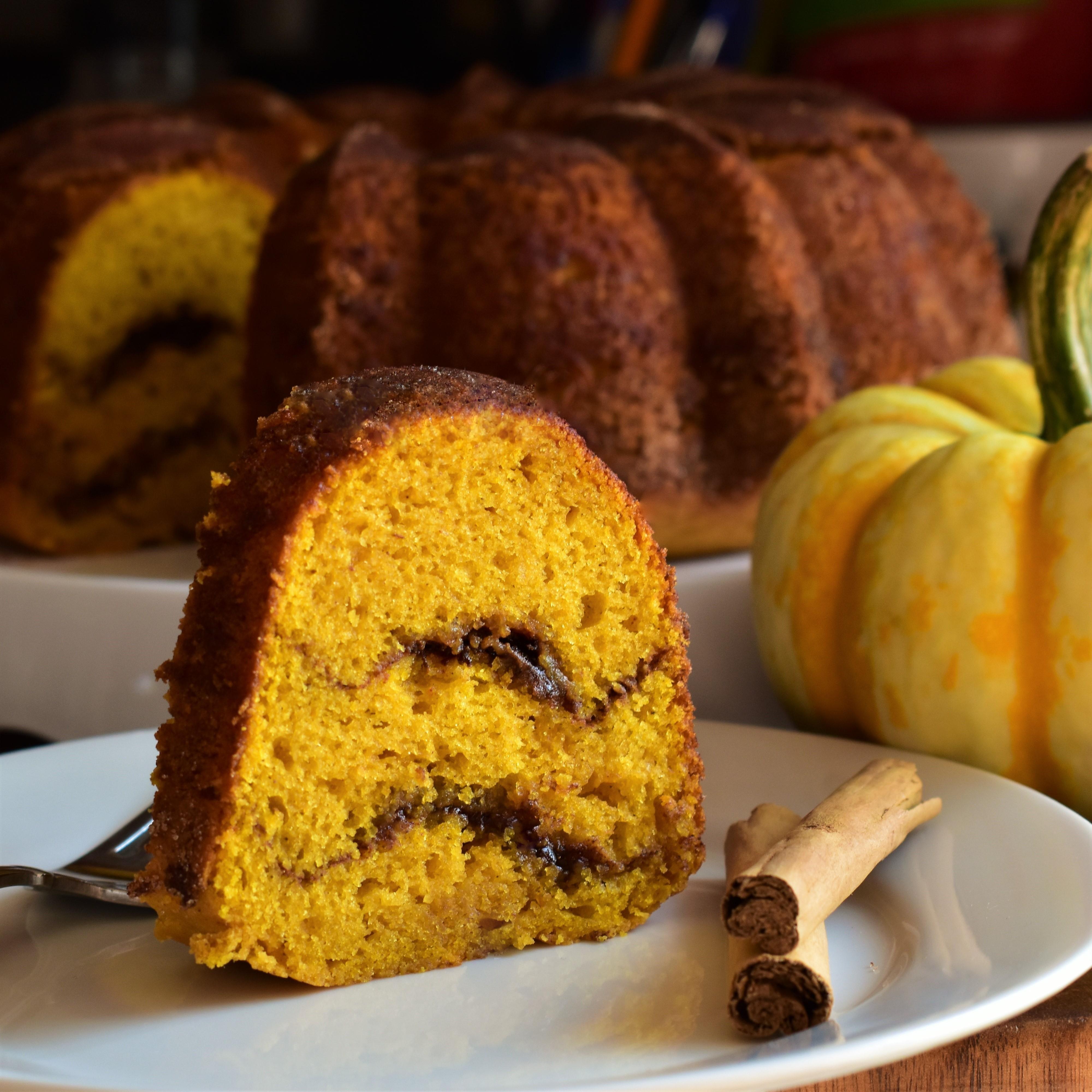 Pumpkin Snickerdoodle Bundt® Cake