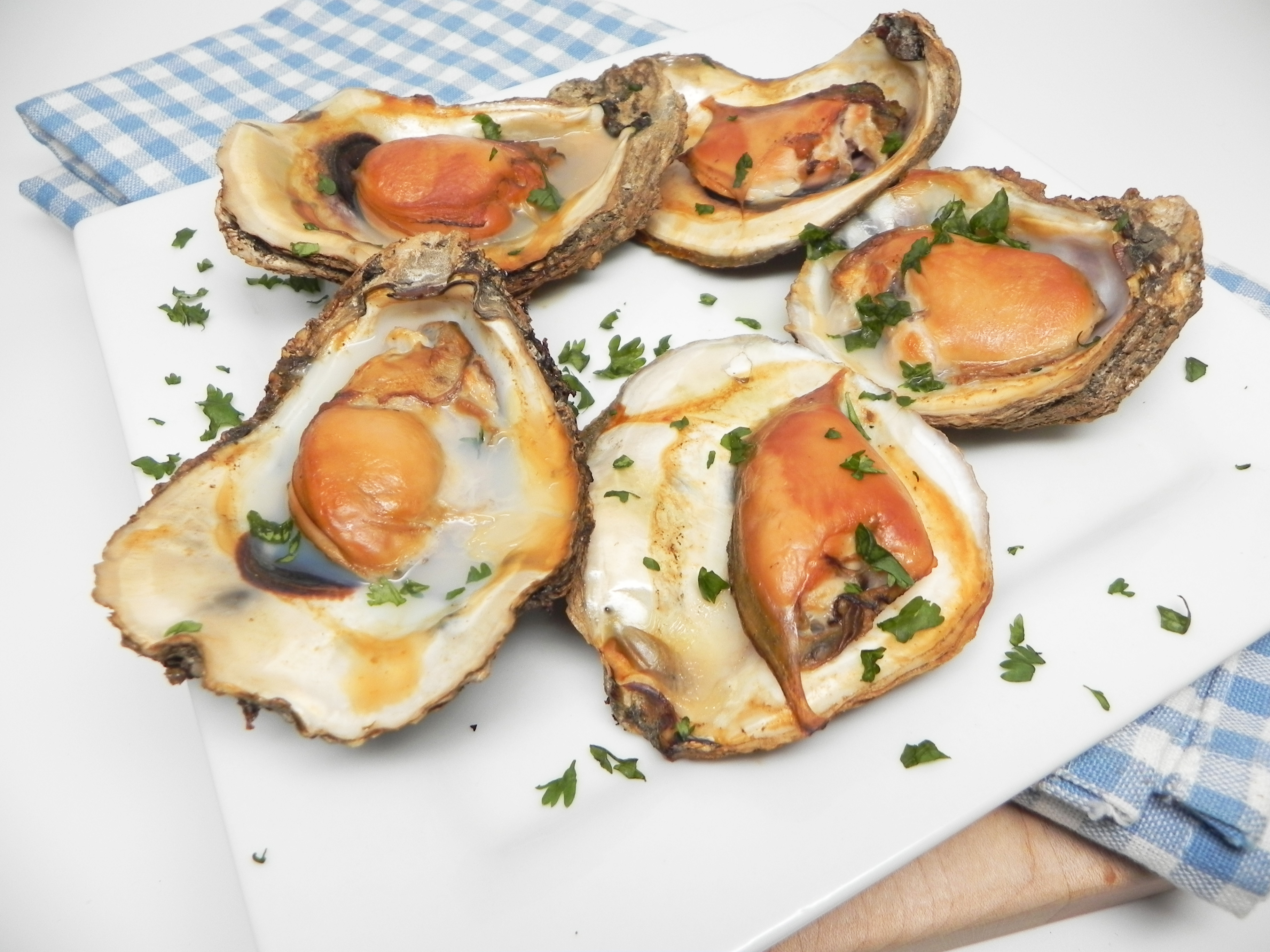 Electric Smoker Smoked Oysters