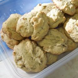 Frosted Rhubarb Cookies Nikki