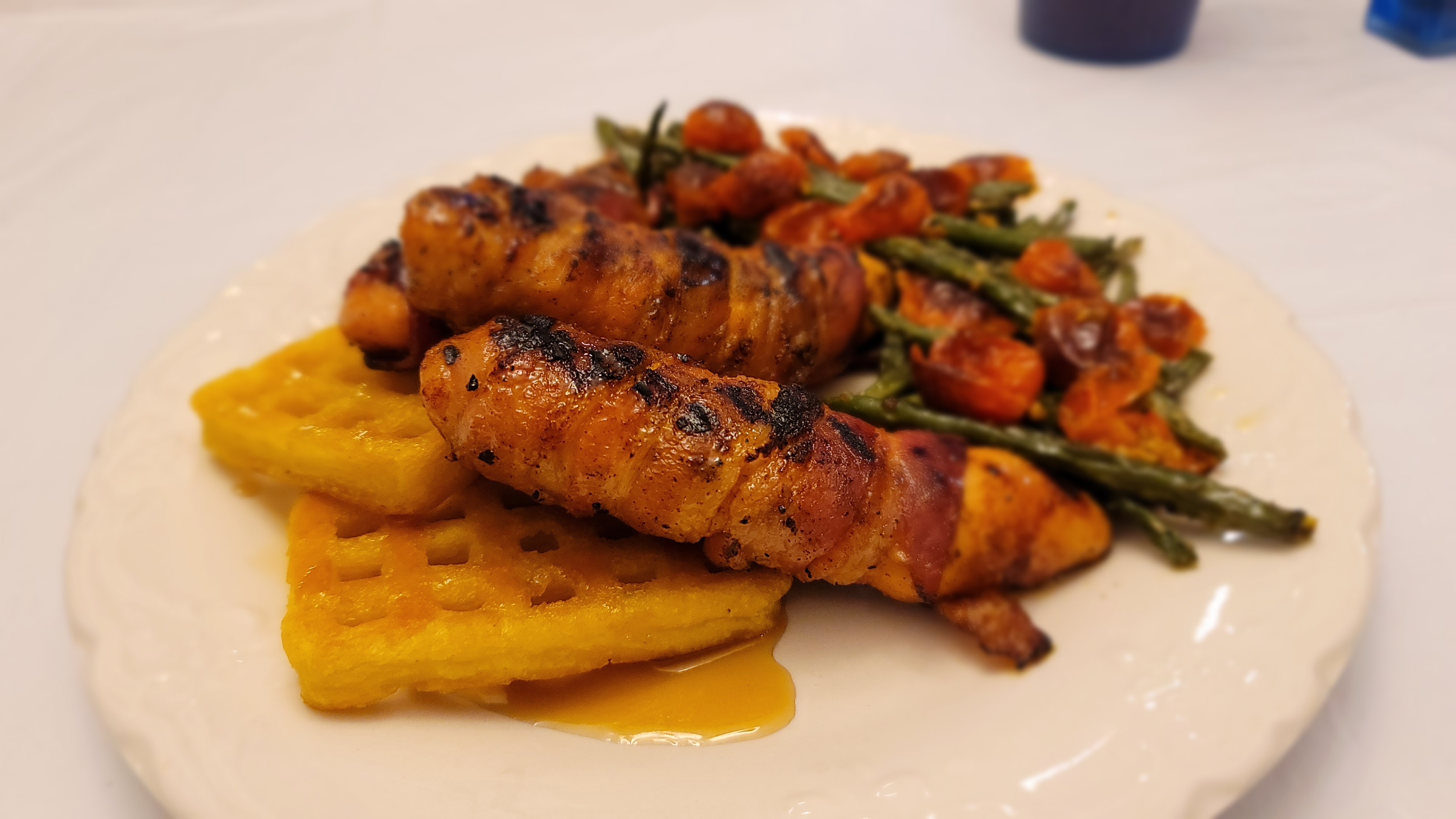 Grilled Bacon-Wrapped Chicken Tenders Twila Davis Reed