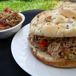Easy Slow Cooker Pulled Pork Molly