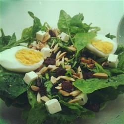 Jamie's Cranberry Spinach Salad angielow