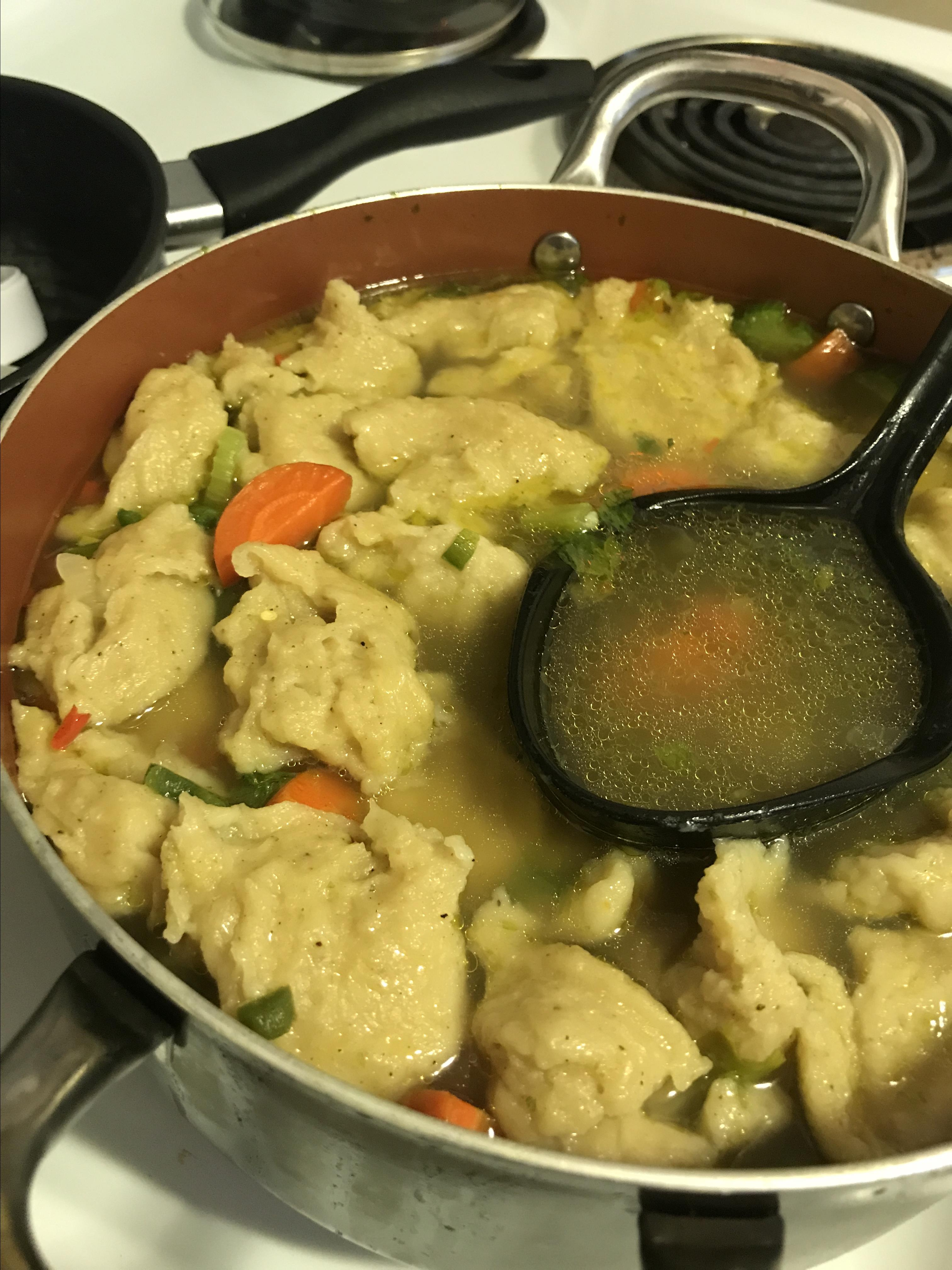 Polish Chicken and Dumplings