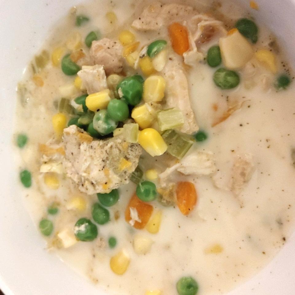 Instant Pot® Chicken Pot Pie (Crustless and Gluten Free)