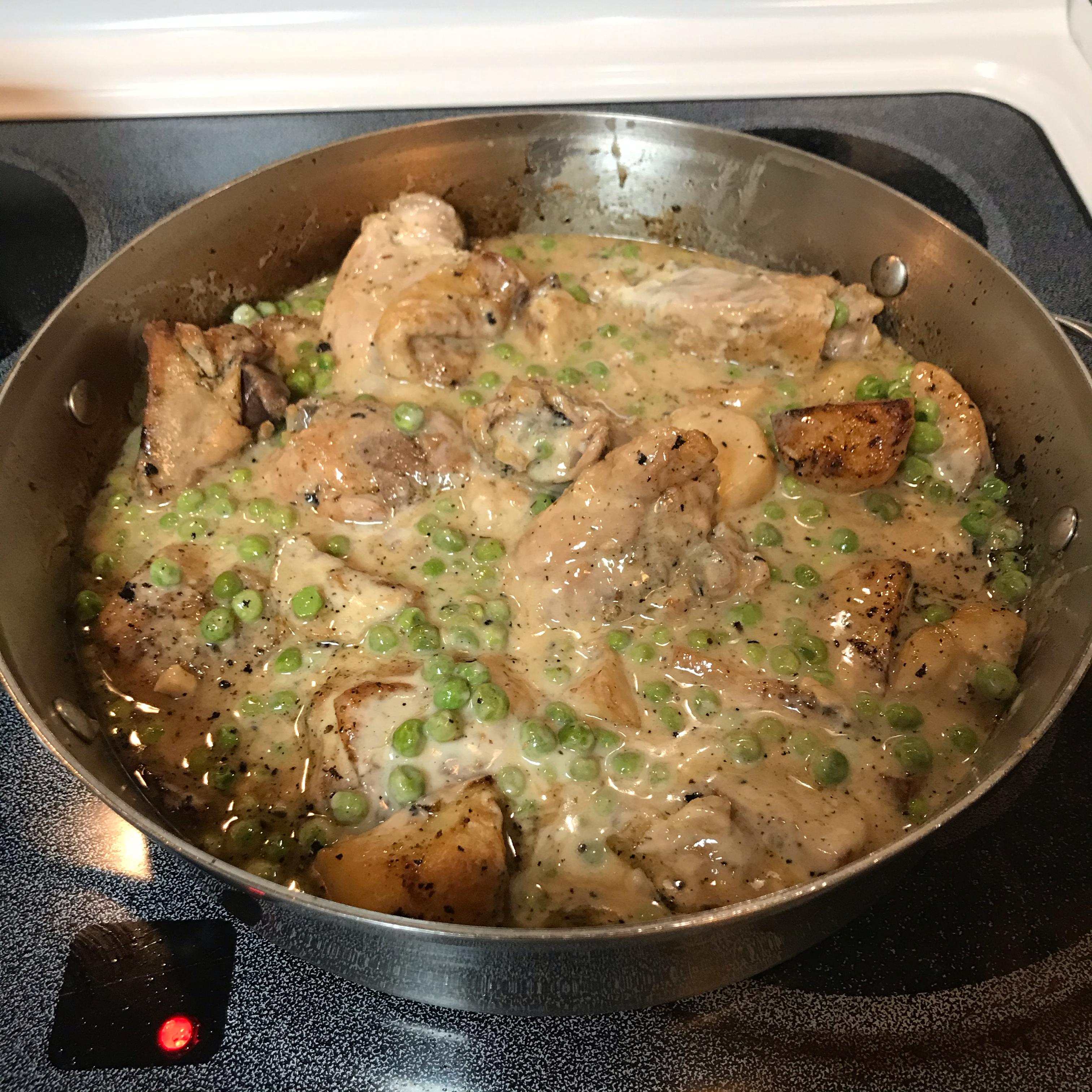 Classic Chicken Vesuvio A.M. S.