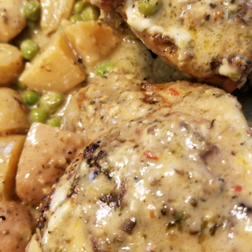 Classic Chicken Vesuvio Al Harvin