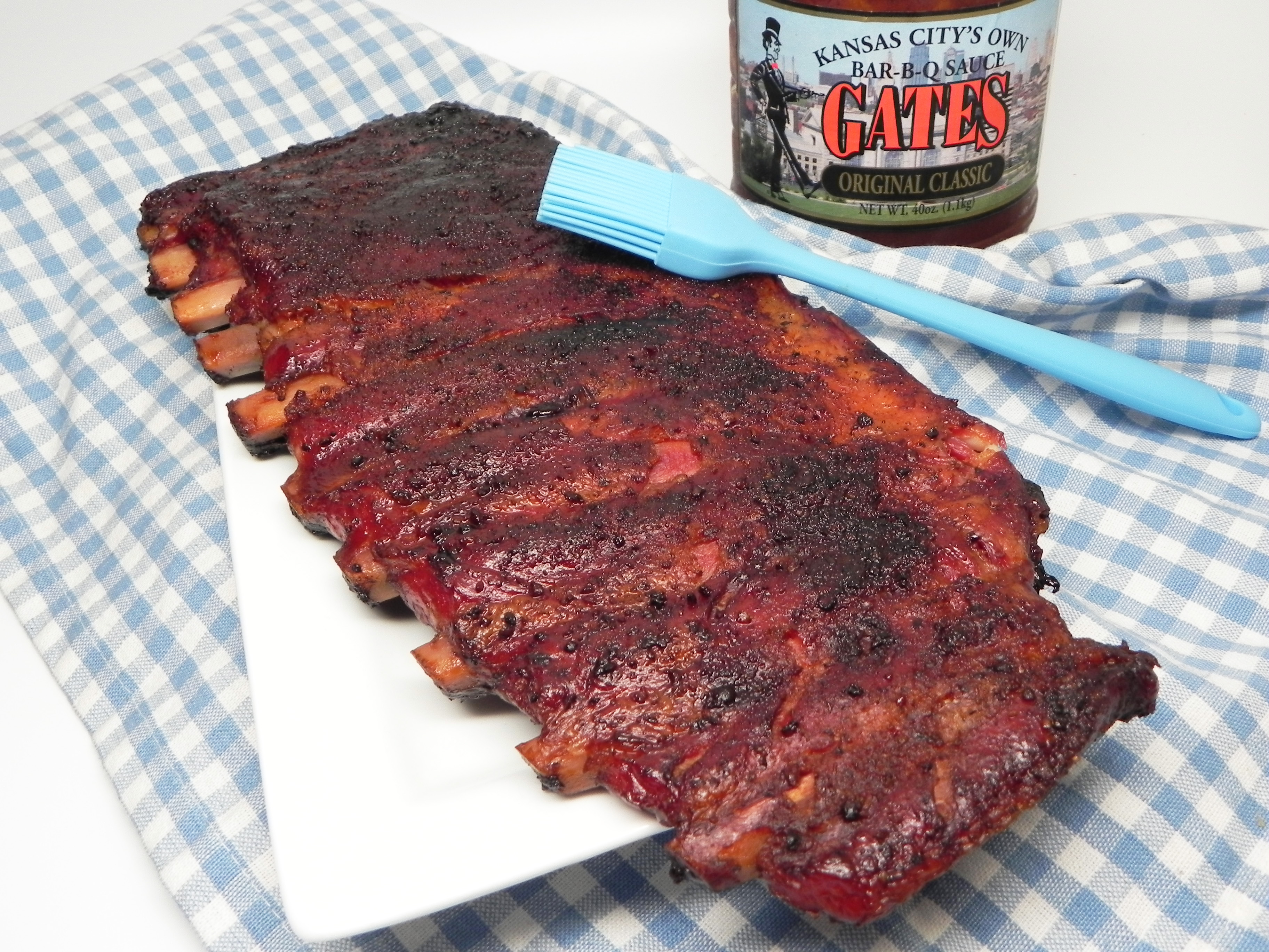 Larry's Smoked BBQ Spare Ribs