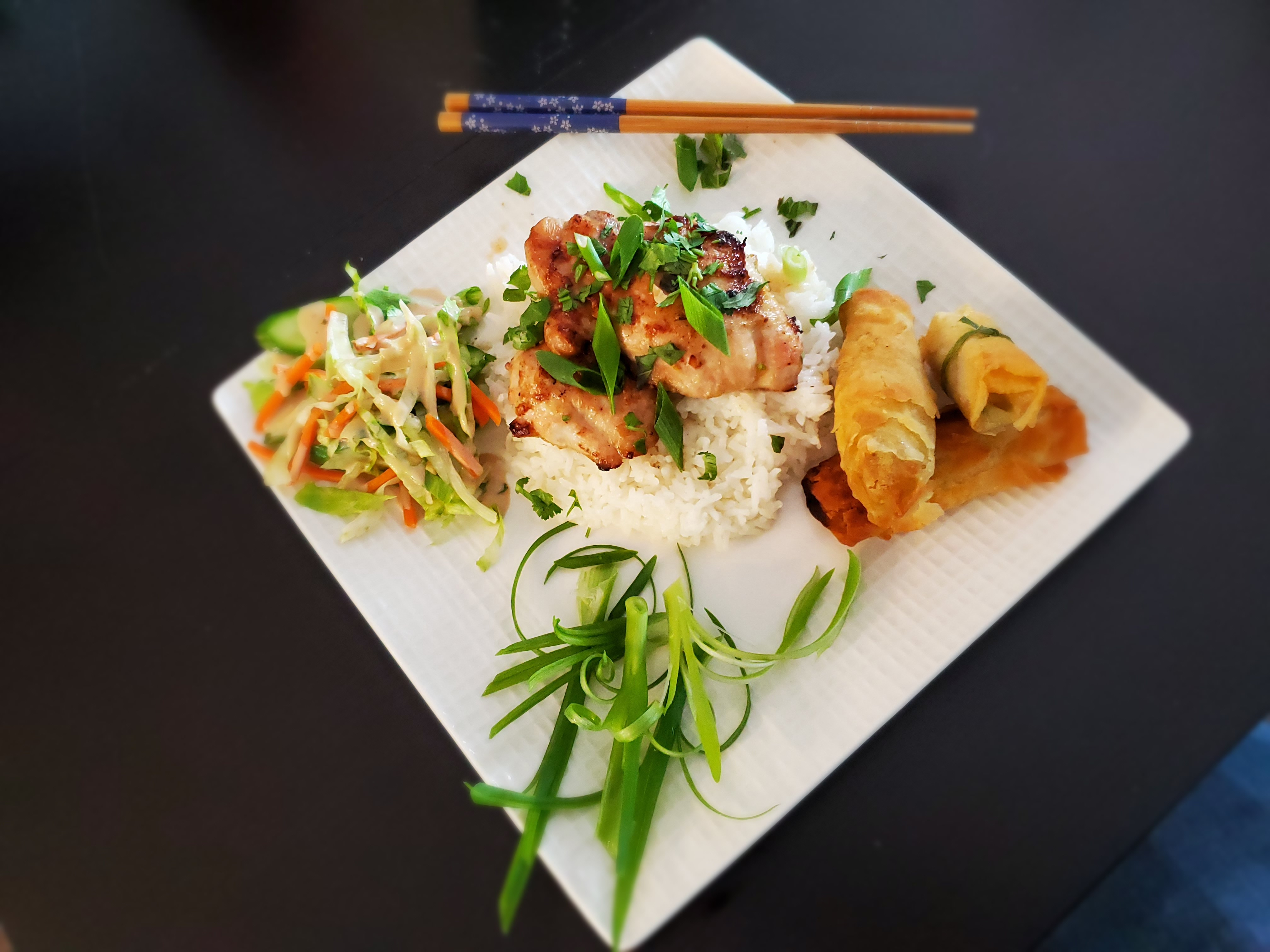 Vietnamese Grilled Lemongrass Chicken Nicholas Chou