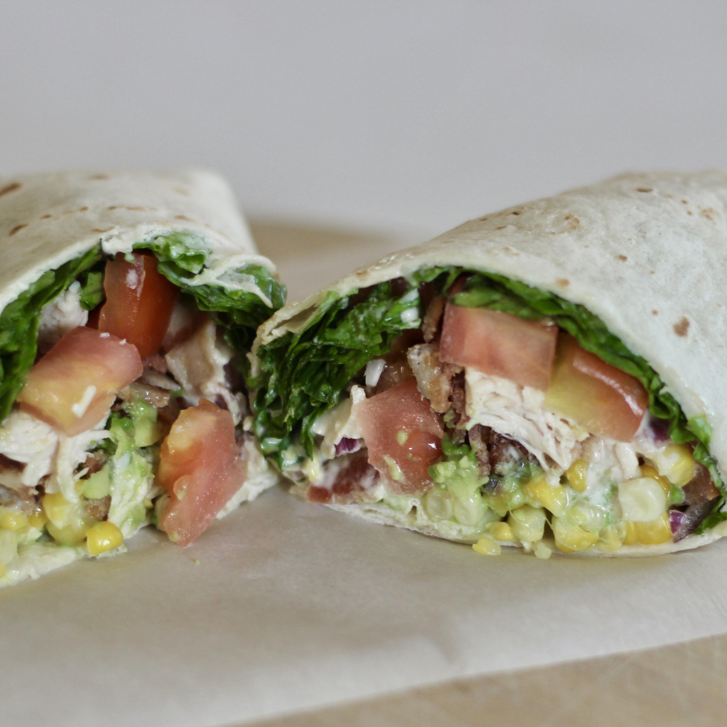Grilled Chicken BLT Wraps