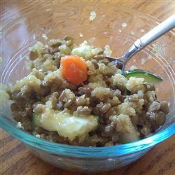 Quinoa and Lentil Salad Brooke Decker