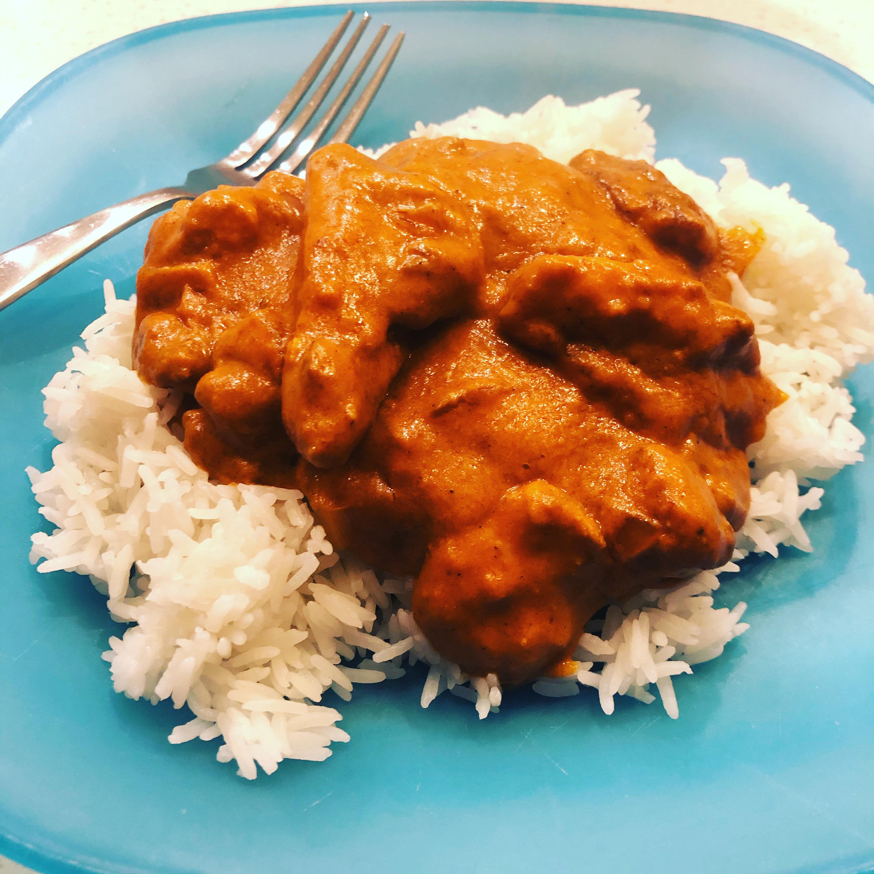 Creamy Cashew Chicken Curry tavb