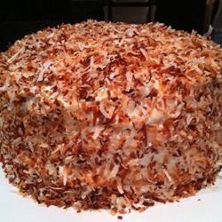 Cream of Coconut Cake Amy