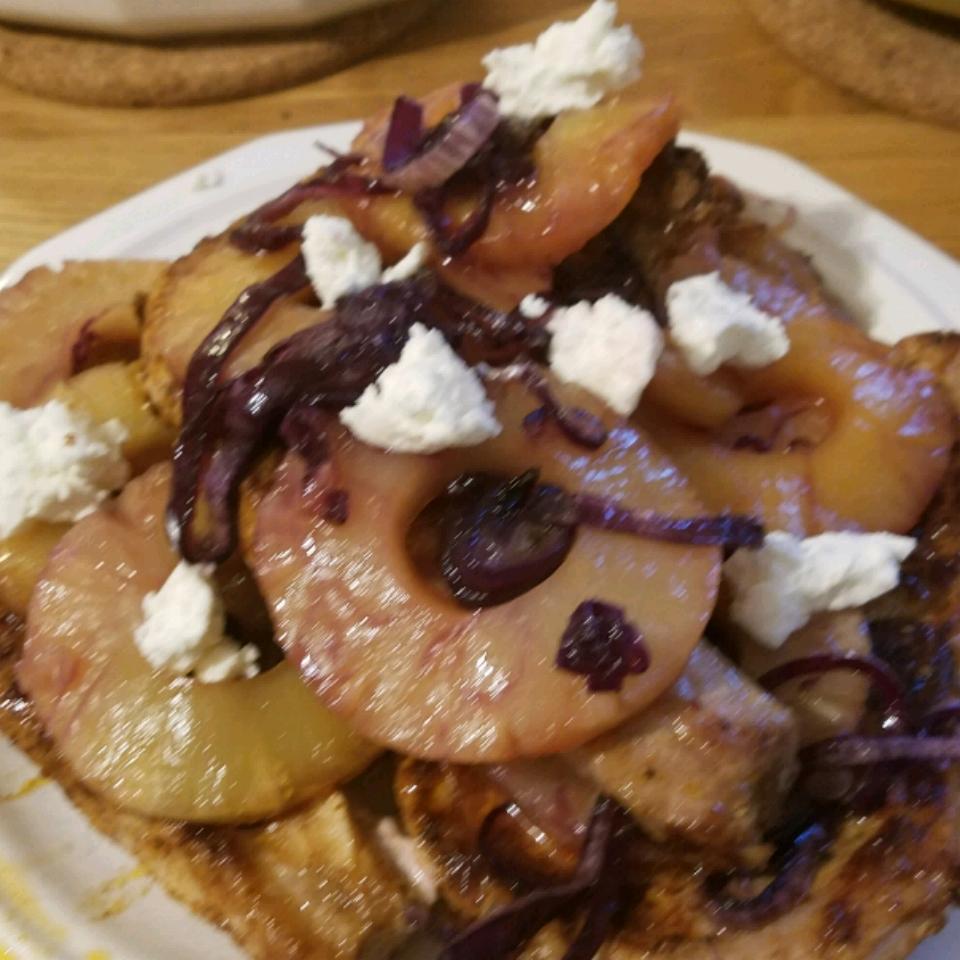 Brown Sugar-Pineapple Pork Chops hiancest