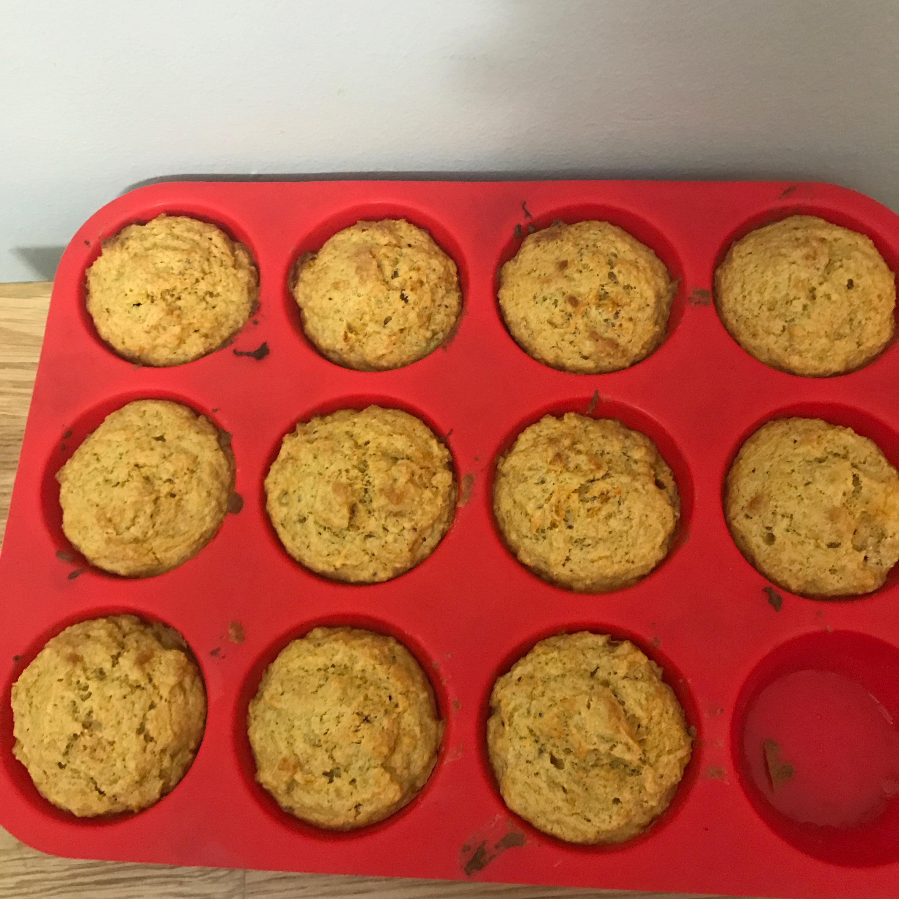 Carrot Muffins sandeeee