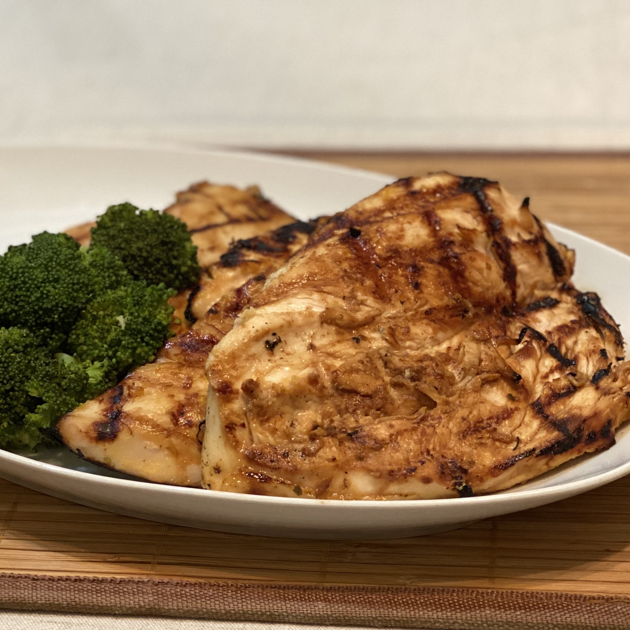 Grilled Caribbean Chicken