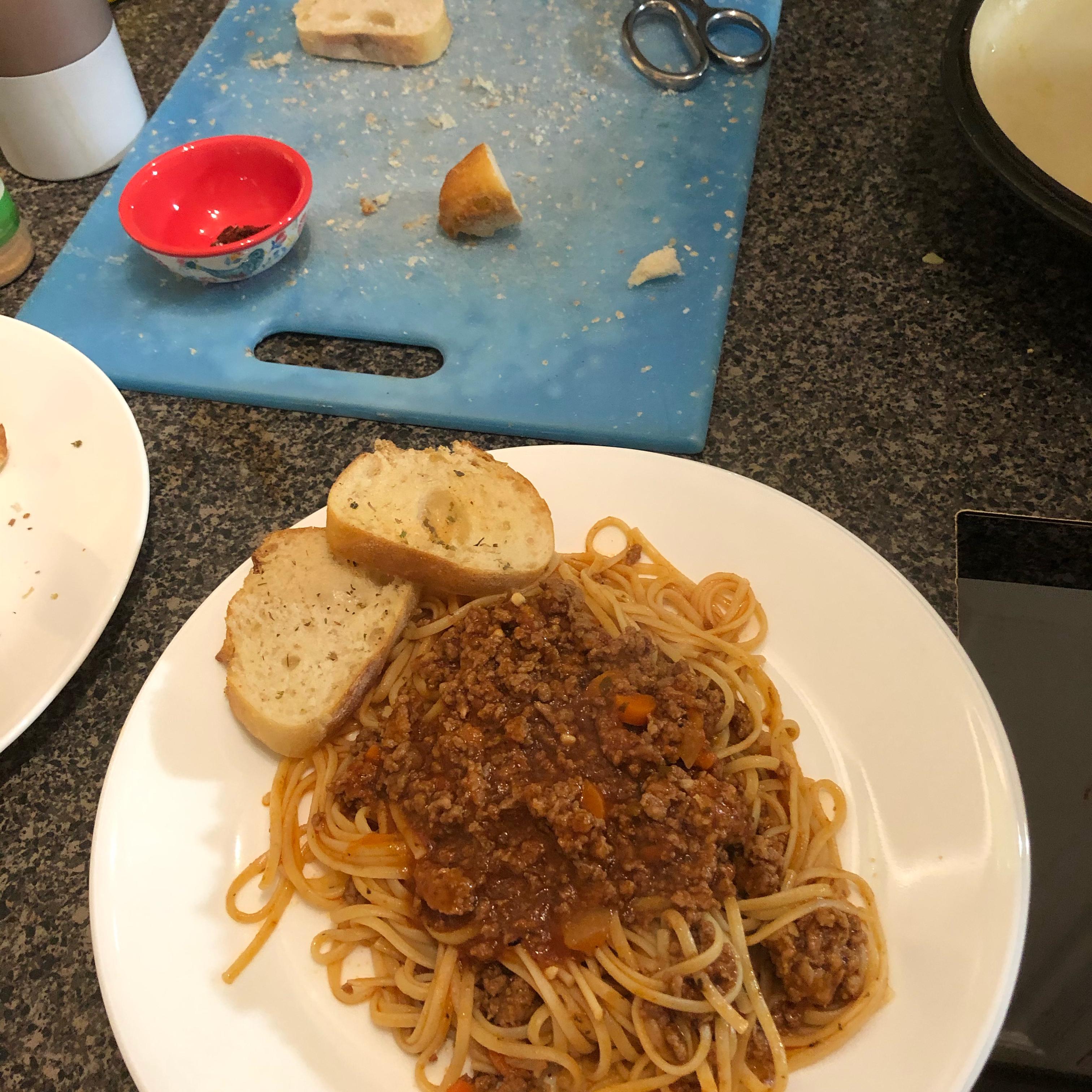 Busy Mom's Spaghetti Bolognese Kevin