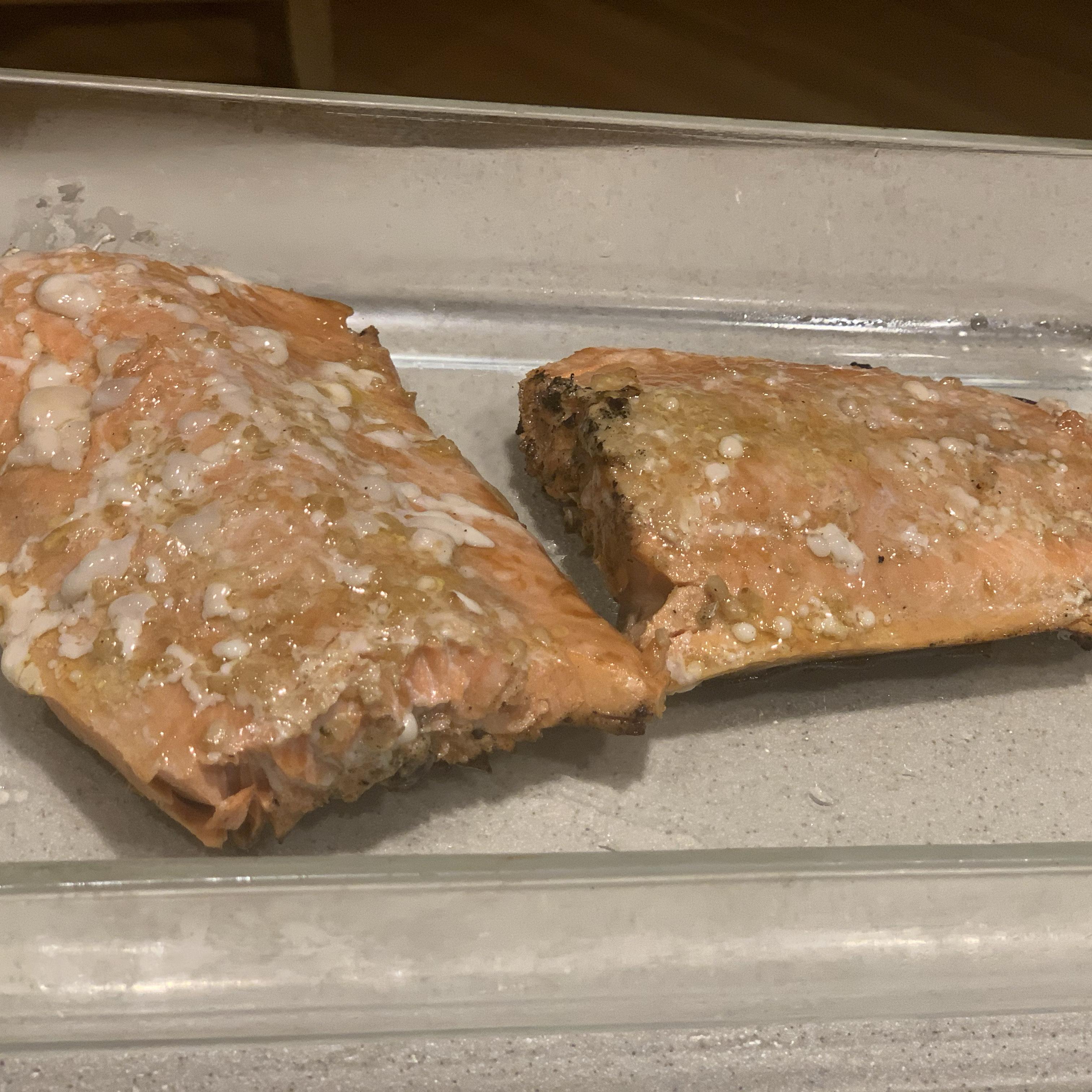 Healthier Grilled Salmon I Michael Reis