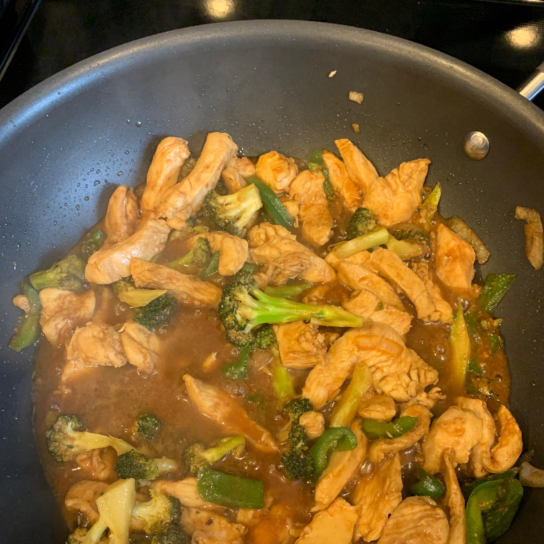 Kim's Stir-Fried Ginger Garlic Chicken Gladys Jackson