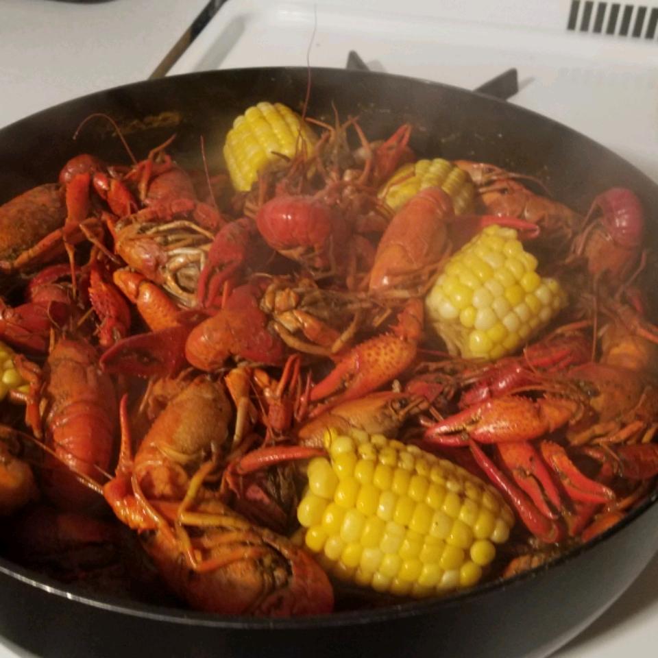Louisiana Crawfish Boil Jason
