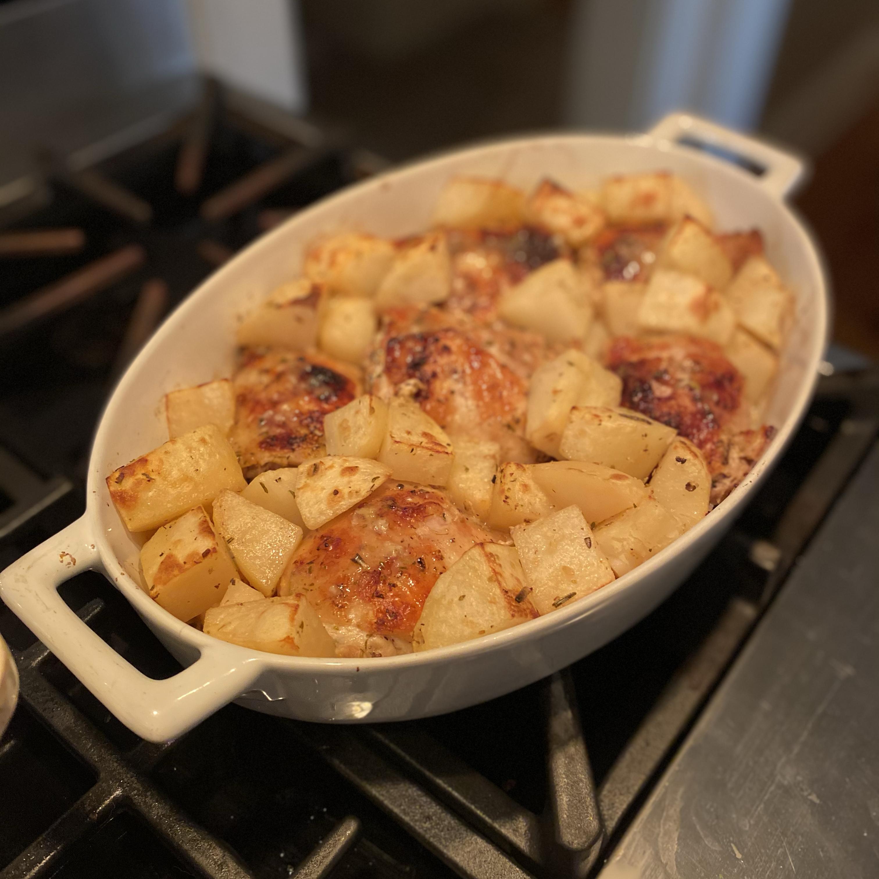 Greek Lemon Chicken and Potatoes