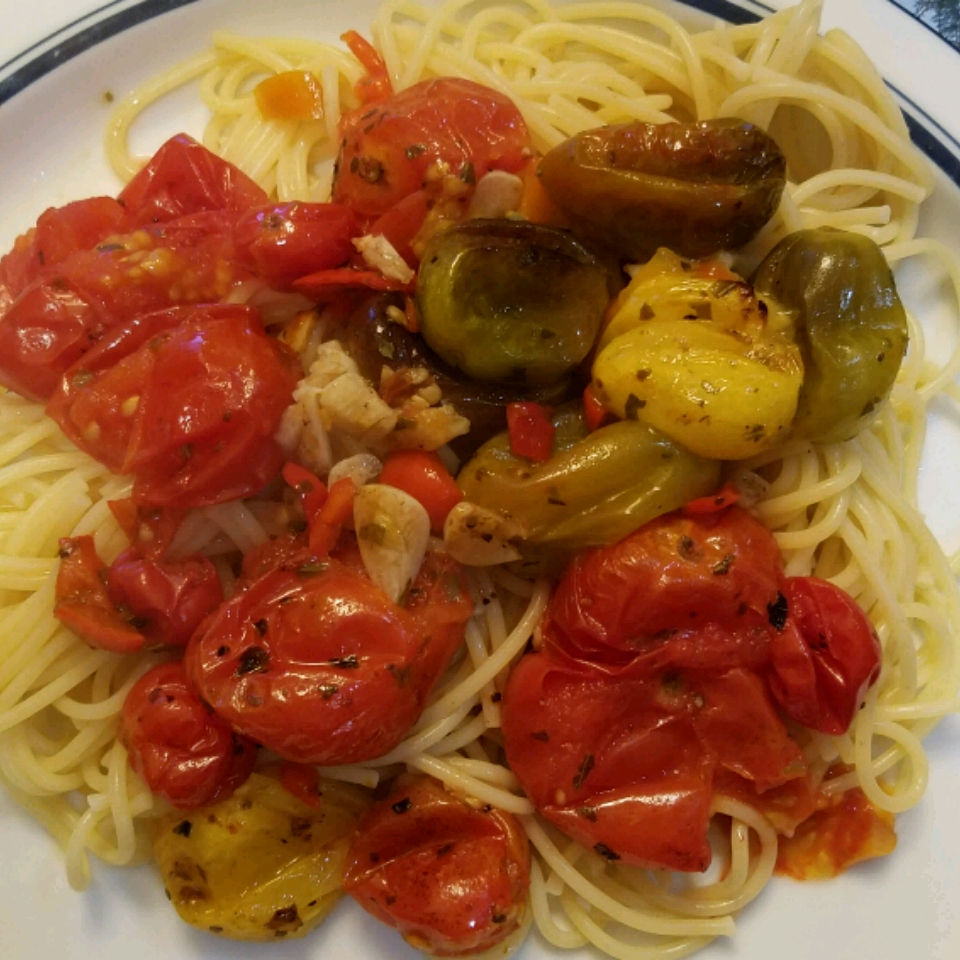 Roasted Tomatoes with Garlic