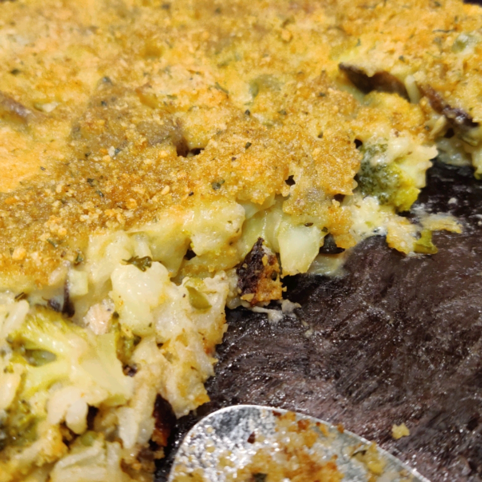 Healthy Broccoli Cheese Bake Lorence Sing